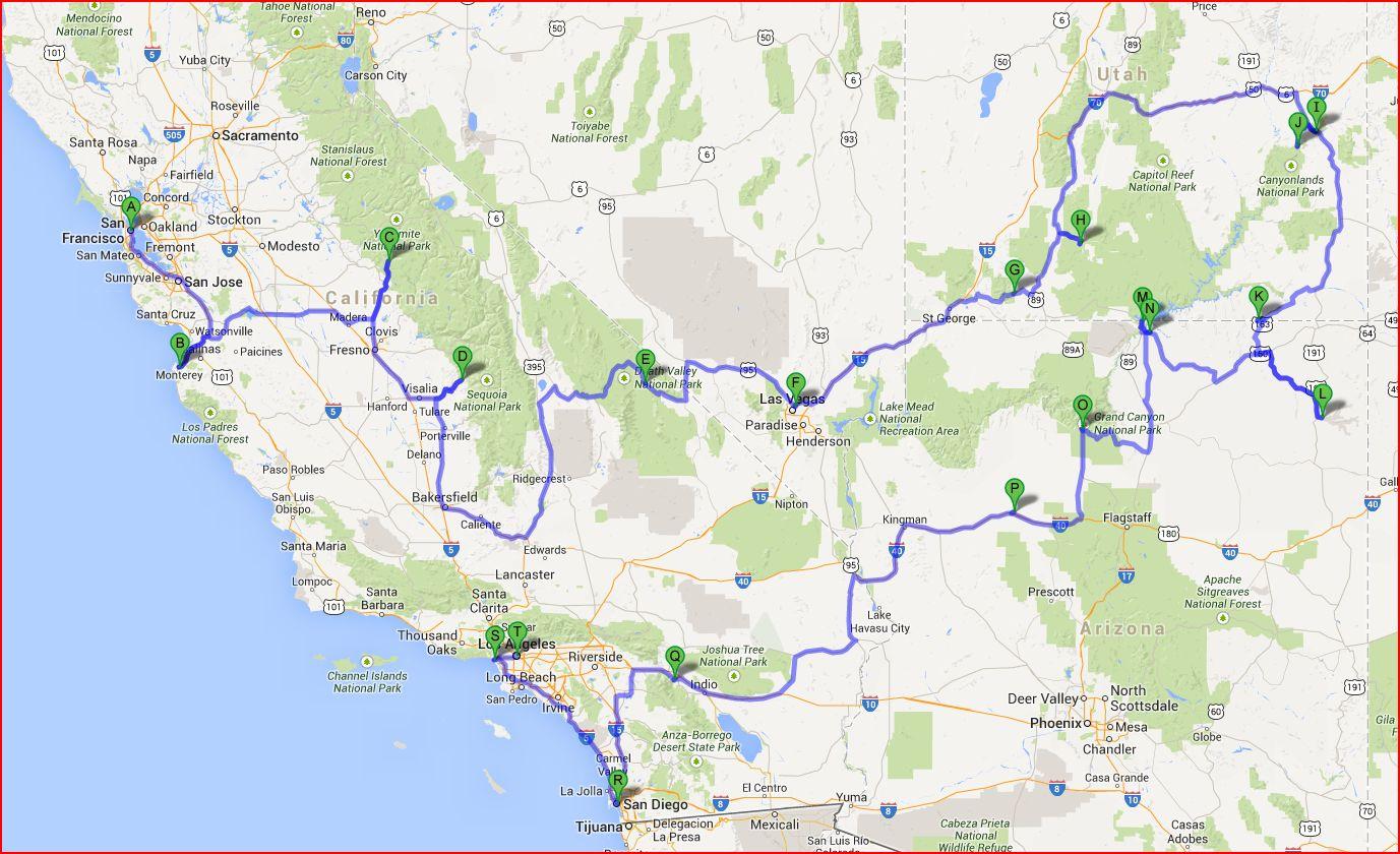 parchi nazionali nell 39 ovest degli usa consigli utili 1