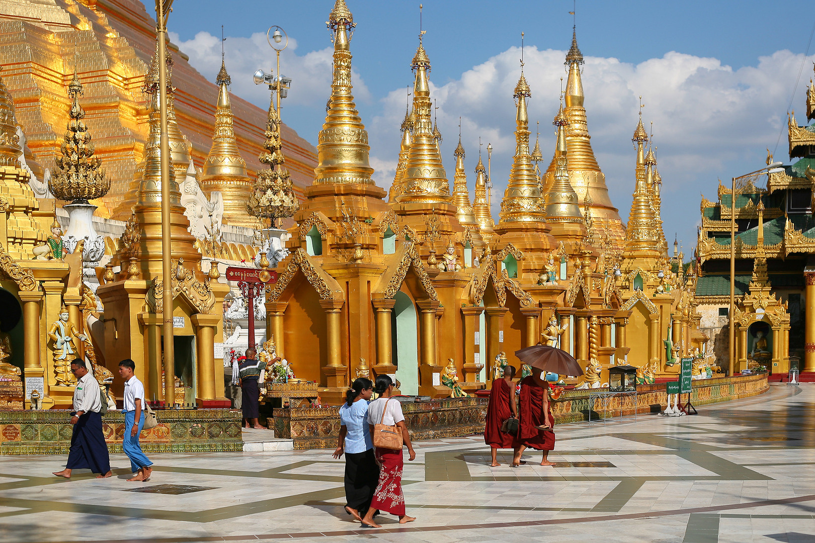 how to go to myanmar from vancouver