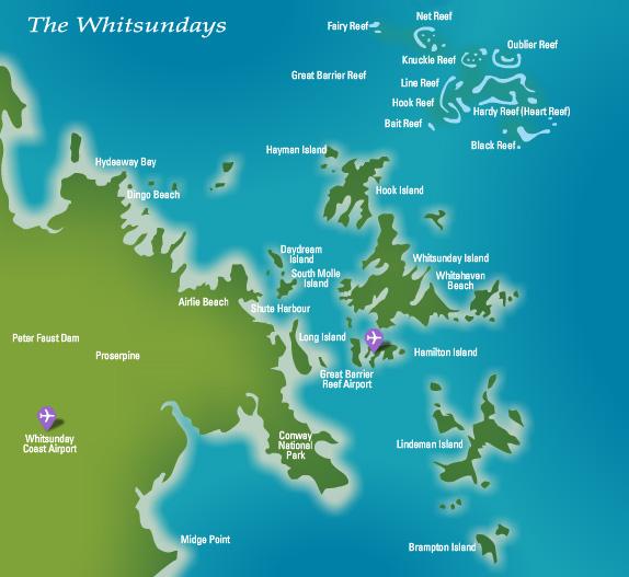 Anchorage Hamilton Island Map
